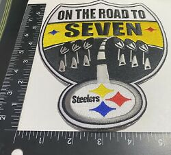 Rare Pittsburgh Steelers ☝️ Iron On Patch 🏈ps48