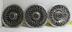 Oem Ford Set Of 3 14 Hubcaps E0wy1130c 1980-1982 Mercury Cougar 2805