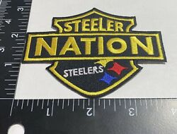 Rare Pittsburgh Steelers ☝️ Iron On Patch 🏈ps07med