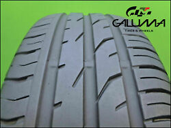 1 One Tire Nice Continental 195/55/16 Contipremiumcontact 2 87v Nopatch 48660