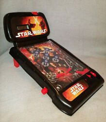 2009 Star Wars Fighting Lightsabers Pinball Machine, Table Top Game, Lucas Films