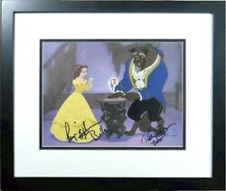 Signed Paige Oand039hara Robby Benson Voice Reflections Love Disney Beauty And Beast