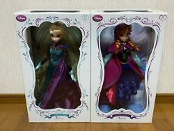 Disney Frozen Limited Doll Collection Elsa + Anna World Limited 5000 Pcs