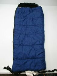 Kelty Kids Sleeping Bag 25 X 63 Voyager +40 Degrees Small Right Zipper Blue