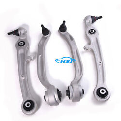Left And Right Front Lower Control Arm Kit Fit For Audi A6/s6/avant 05--11