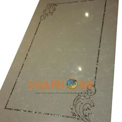 4and039x2and039 Italian Marble Top Dining Table Mother Of Pearl Inlay Interior Decor B478