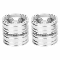 Rear Wheels Rims Hubs +7 Spokes Spare Accessories For Tamiya 1/14 Tractor Truck