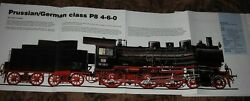 Huge Prussian/german Class P8 4-6-0 Steam Locomotive Poster Picture Train Engine