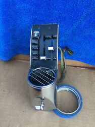 Original Factor A/c Panel Driver Side With Switch Panel Ford Mustang