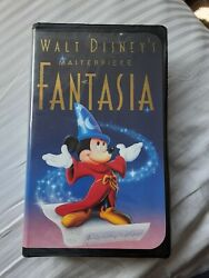 Fantasia Vhs, 1991 In Very Good Condition
