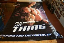 Fantastic Four Michael Chiklis The Thing Large Banner Movie Poster 59 X 94
