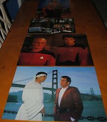 Star Trek Posters Collection Only 1and039s On Ebay Please See Pics For Condition