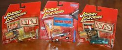 Johnny Lightning Special Buy 2 Get 1 Free Hot Rod Magazine And Motor Trend