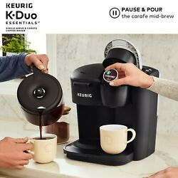 Keurig K-duo Essentials Coffee Maker Single K-cup Pod And 12 Cup Brewer 2dayship