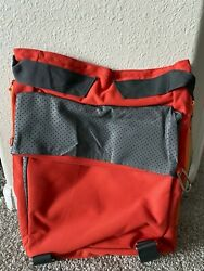 Beach Backpack Red Terra Nation water resistant large $39.00