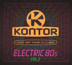 Kontor Top Of The Clubs-electric 80s Vol.2 3 Cd Neuf