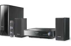 Panasonic Sc-ptx7 Dvd Home Theater System With Built-in 80gb Hard Drive Music