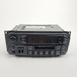 Jeep Dodge Chrysler Factory Stereo Tape Cassette Player Radio P56038588al As-is