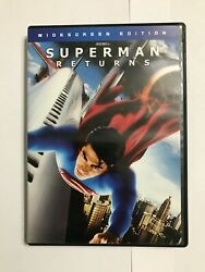 Superman Returns DVD 2006 Widescreen Edition Tested