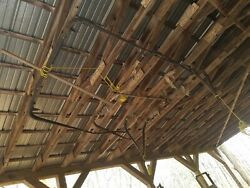 Modle T Complete Touring Top Bows Hanging In A Barn For Years