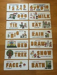 New Replacement Vintage Fisher Price 176 School Days Play Desk Cards U Pick