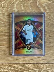 Rodrygo 2019 Gold Standard Rc Newly Minted 20/29 Rc Real Madrid / Brazil Rookie