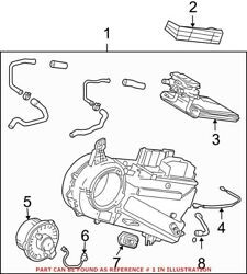 Genuine Oem A/c Evaporator Core And Case Assembly For Toyota 8703008082