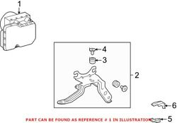 Genuine Oem Abs Hydraulic Assembly For Toyota 4405002522