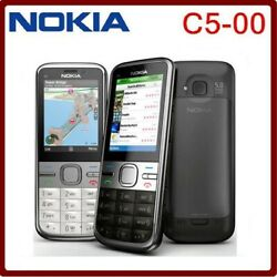 Nokia C5 C5-00 3mp Bar Style 3g Wcdma Dual Bluetooth Long Stand-by 3.15mp Camera