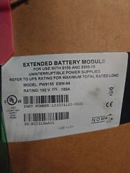 New Eaton Extended Battery Module For 9155 And 9155-15 Model Ebm-64 Rated 192v