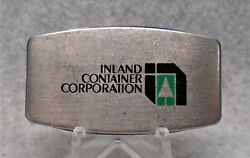 Vintage Zippo Brand Pocket Knife / Nail File Inland Container Corp. Nice Lqqk
