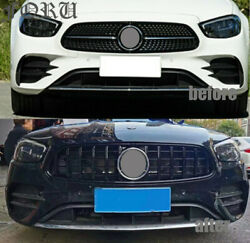 Front Grille Removal Gt Gtr For Mercedes Benz E-class W213 Grill Black 2021+