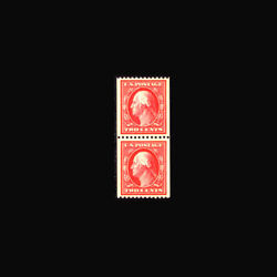 Us Stamp Regular Issues Mint Og And Nh, Super B S386 Coil Pair, Exceptional Quali
