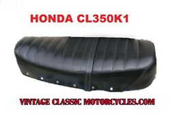 Honda Cl350k1 Cl350 Seat Nos Take Off Minty Complete 1969