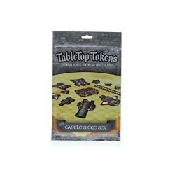 Tabletop Tokens Castle Siege Set Game Accessory Free Global Shipping