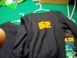 Notre Dame Holy Grail Collector Piece1952 Pullover Letter Sweater Almost 70 Yrs