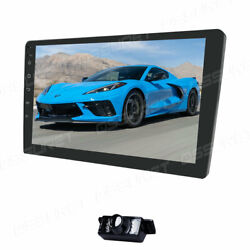 10.1 Inch 2 Din Android 10 Car Stereo Mp5 Player Gps Sat Navi Wifi Usb Subwoofer