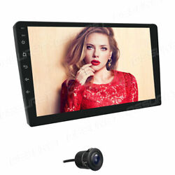10.1 Smart Android 10 4g Wifi Double 2din Car Radio Stereo Gps Bt Subwoofer Pip