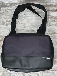 "Nintendo DS New Padded Travel Bag CrossBody Over Shoulder Purple 14""x10"" $18.95"