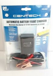 Centech 12 Volt Automatic Battery Float Charger 69955 New Sealed