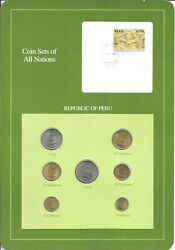 Coins Of All Nations - Peru - 7 Coin Set -1985-1988 Coan 1