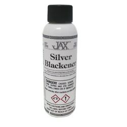 Jax Silver Blackener Black Jewelry Antique Patina For Silver And Gold 2oz $11.99