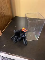 Ty Beanie Baby - Luke The Black Lab 5 Inch Mint With Tags 1998 Labrador Dog