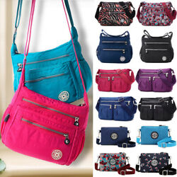 Womens Shoulder Bag Handbag Messenger Bag Cross Body Canvas Purse Tote Hobo Bags $15.49