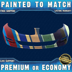 New Painted To Match Front Bumper For 2013-2016 Lincoln Mkz W/ Park Assist 13-16