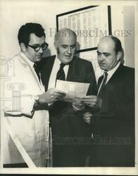 1970 Press Photo Doctors Paul Gordon John Ruby And Lawrence Scheving