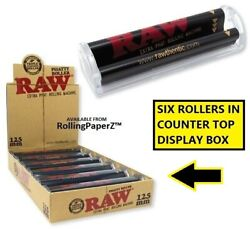 Lot Of 6 Raw Phatty Rollers 125mm Extra Phat Size Cigar Wrap Rolling Machines