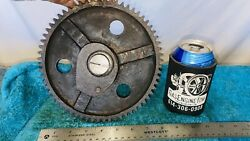 Cam Timing Gear W/ Pin For 7 Hp Hercules Economy Jaeger Hit Miss Gas Engine