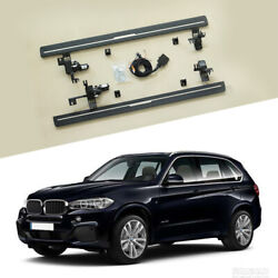 2pcs Fit For Bmw X5 F15 2014-2018 Deployable Electric Running Board Side Step
