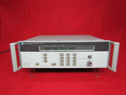 Hpagilent 5352b Microwave Frequency Counter 10hz To 40ghz Calibrated